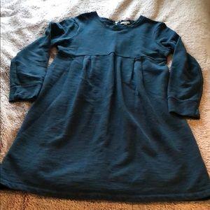 GAP maternity teal dress